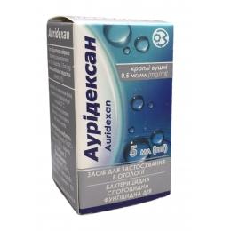 Ауридексан кап. уш. 0,05% фл. 5 мл 1