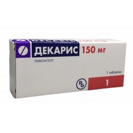 Декарис табл. 150 мг 1