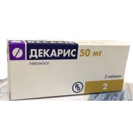 Декарис табл. 50 мг 2