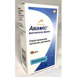 Авамис спрей назал. 27,5 мкг/доза фл. 120 доз 1