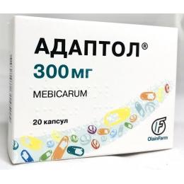 Адаптол капс. 300 мг 20