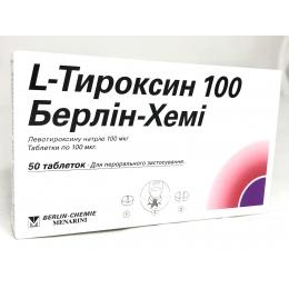 L-Тироксин табл. 0,1 мг 50