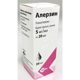 Алерзин кап. орал. 5 мг/мл фл. 20 мл 1