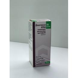 Доцетаксел конц. д/инф. 80 мг фл. 8 мл №1