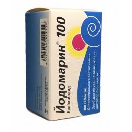 Йодомарин 100 табл. 100 мкг фл. 100