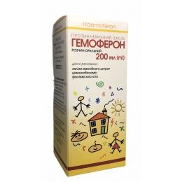 Гемоферон р-р орал. фл. 200 мл