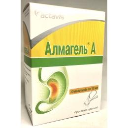 Алмагель А сусп. пакет 10 мл 20