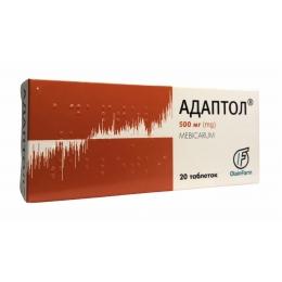 Адаптол табл. 500 мг 20