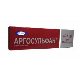Аргосульфан крем 2% туба 40 г 1
